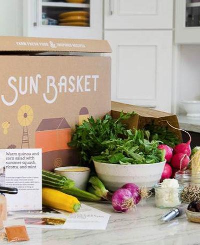 """アメリカで大人気のミールプランを初体験。""""Sun Basket""""から3食4人分を注文してみました♪"""