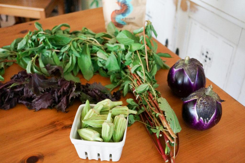 オーガニックの野菜