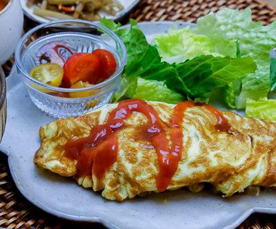 【レシピ】 なつかしい母の味・ポテトとひき肉のオムレツ