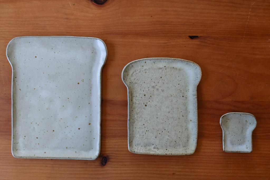 大中小の食パン皿