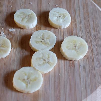 クリームチーズ&バナナスタッフド・フレンチトースト・手順3