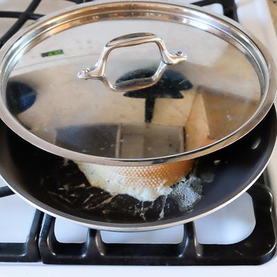クリームチーズ&バナナスタッフド・フレンチトースト・手順8