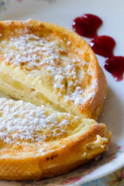 【レシピ】びっくりのおいしさと可愛さ♪ クリームチーズとバナナ入り?まんまるフレンチトースト
