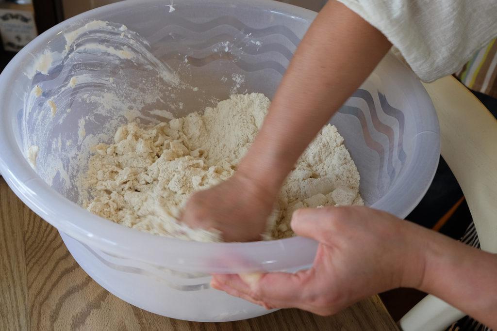 タマーリ作り1