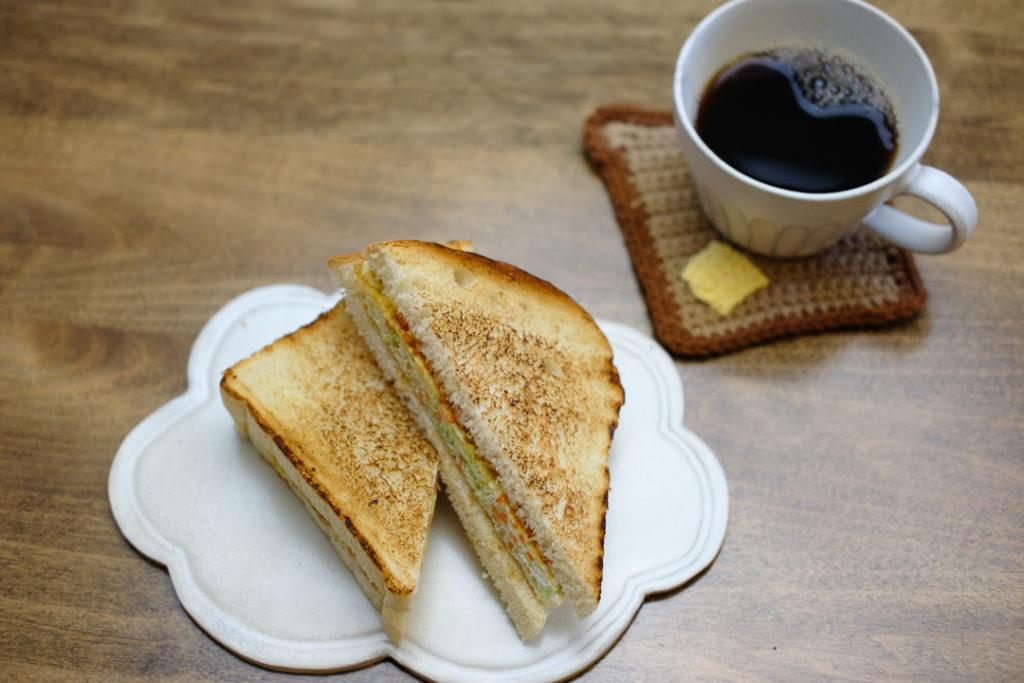 韓国風卵サンド