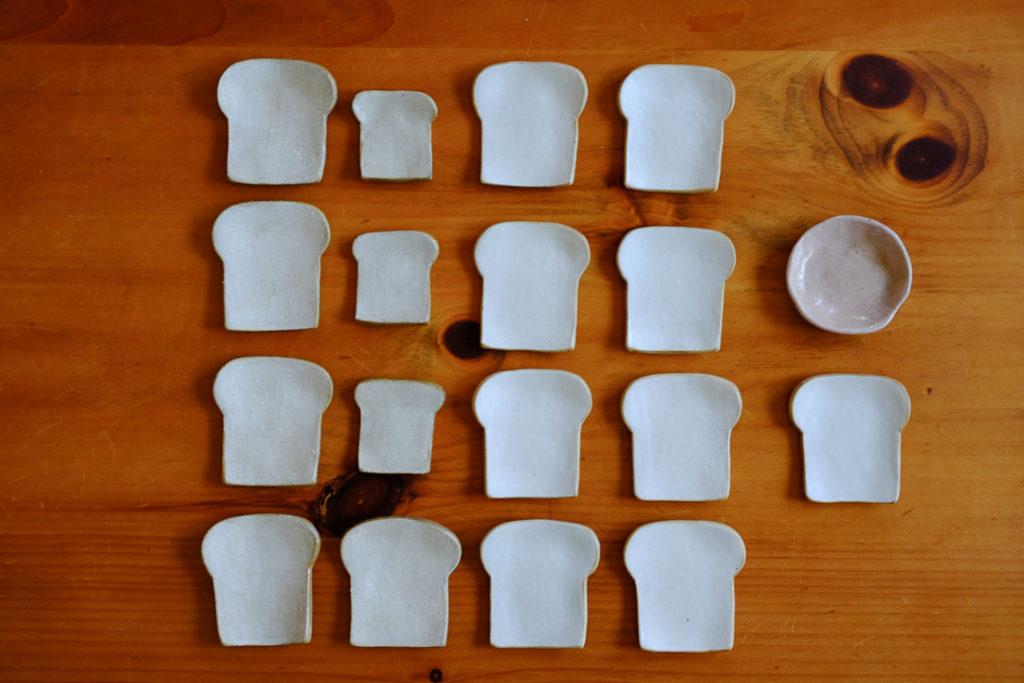 食パン小皿と箸置き