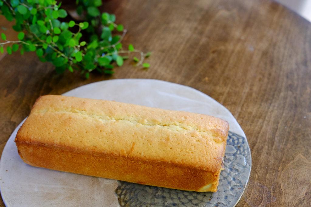 あんこ入りパウンドケーキ
