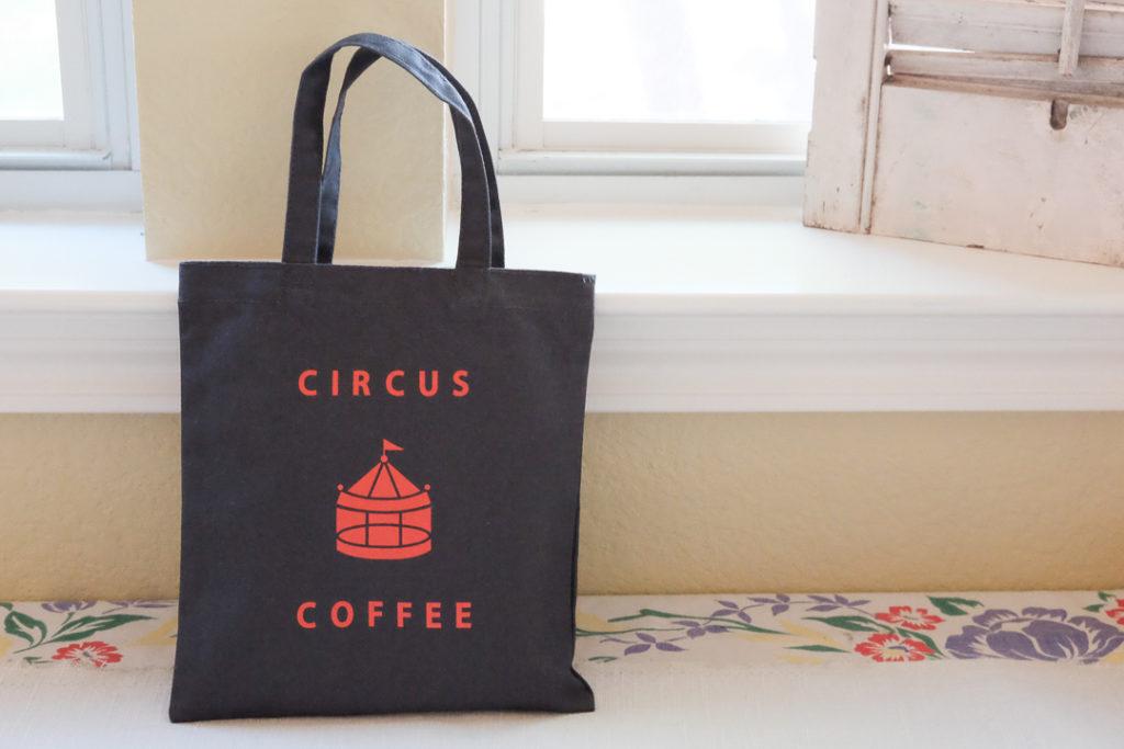 サーカスコーヒーのトートバッグ