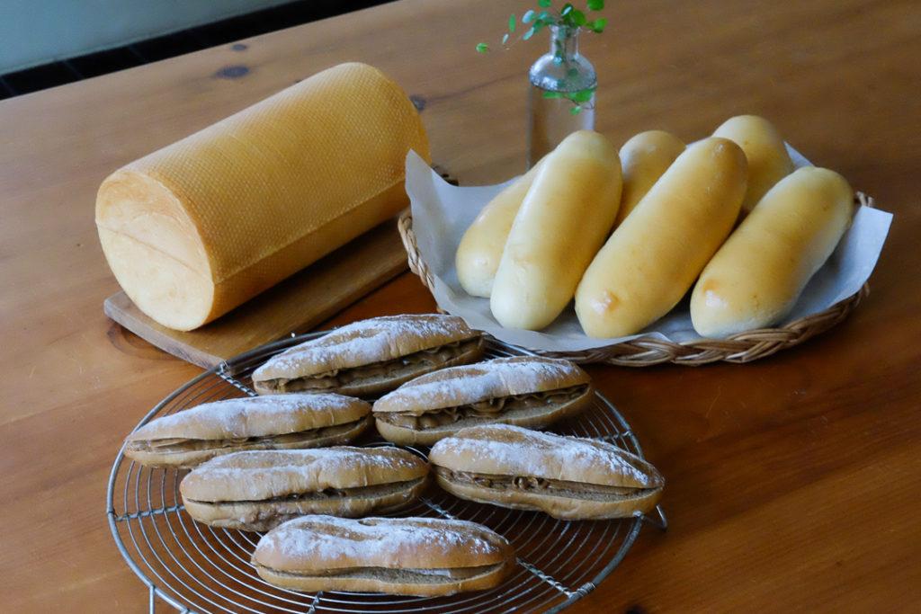 パン3種類