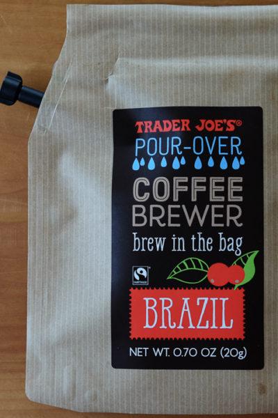 トレーダージョーズのPOUR-OVER COFFEE BREWERがとっても便利そう!