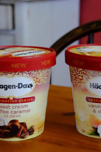 アメリカ限定*ハーゲンダッツアイスクリームの「デスティネーションシリーズ」フレーバー