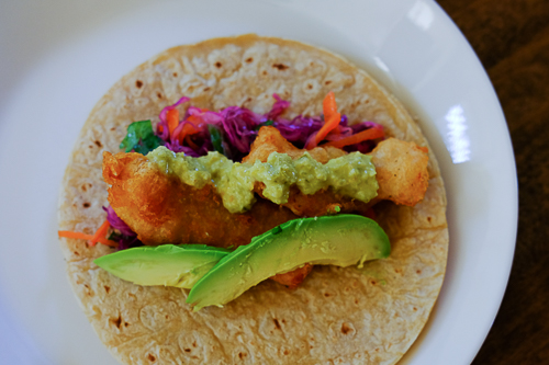 メキシコ料理* フィッシュタコス