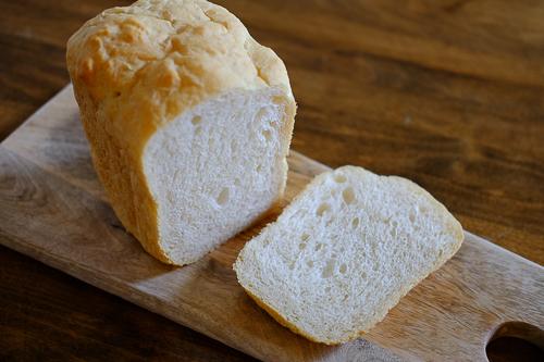 HBにお任せ★オールパーパスフラワー(中力粉)で作る、フランスパン風の食パン