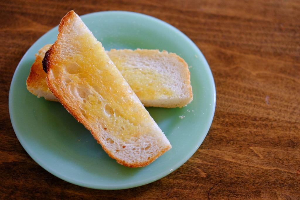 バタートースト、おいしい♪