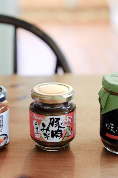 日本からの嬉しいお土産*ごはんのおとも、3種類!