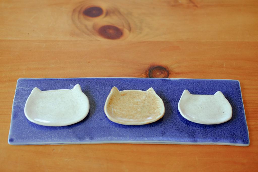 猫のミニ皿