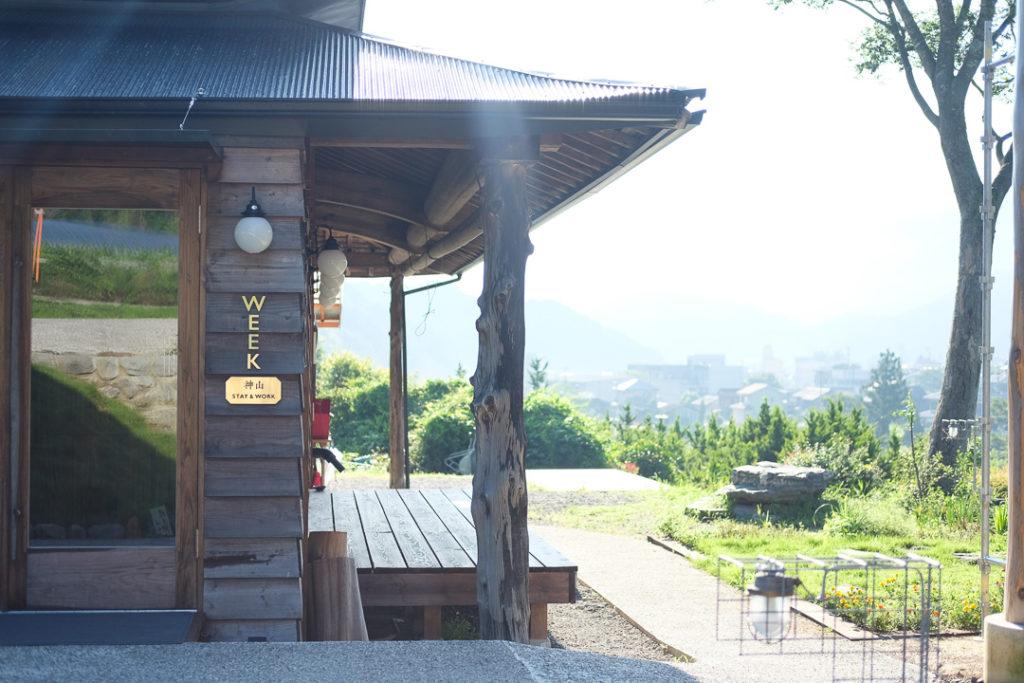 Week神山さんの母屋