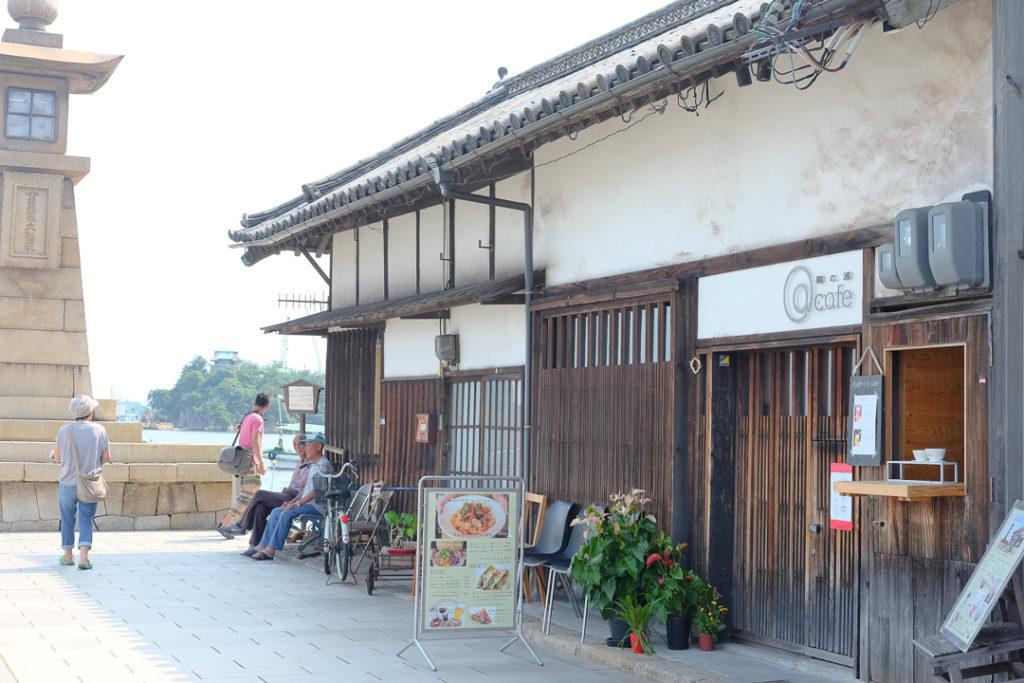 鞆の浦の古民家カフェ