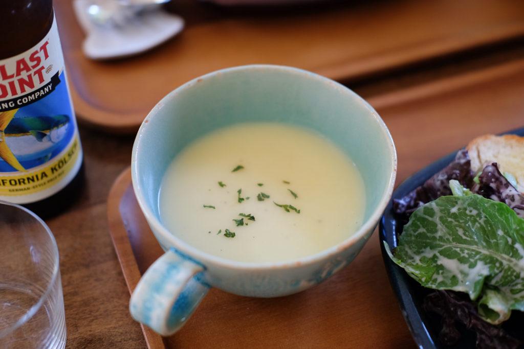 ポテトとリーキのスープ