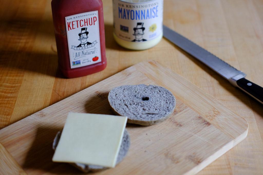 サンドイッチを作ります