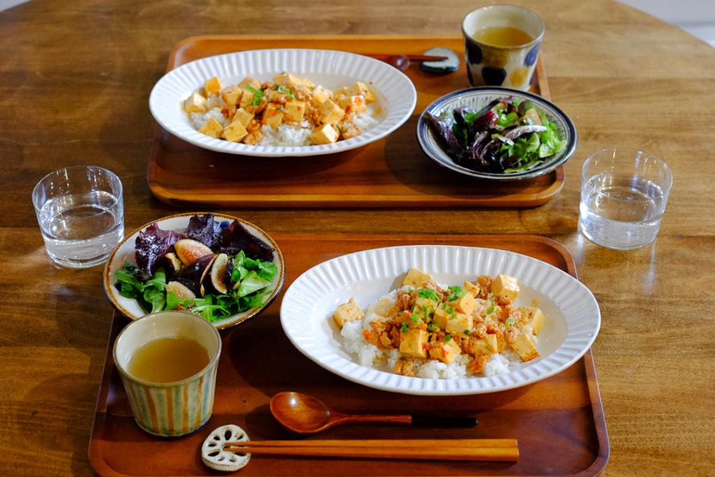 簡単、四川風麻婆豆腐
