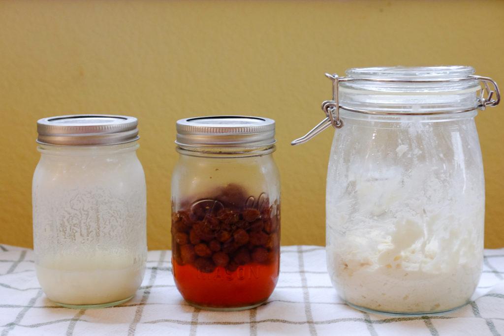 自家製酵母作り