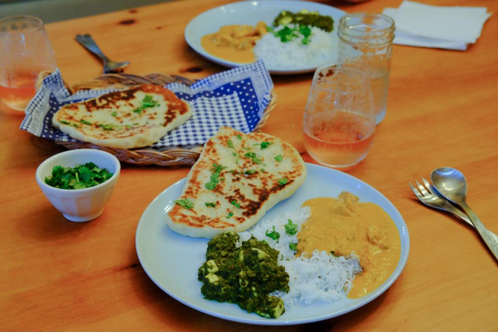 インド料理、おいしく出来た♪