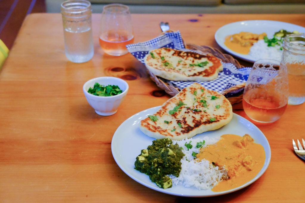 インドカレーディナー