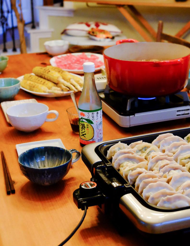モツ鍋&餃子パーティ
