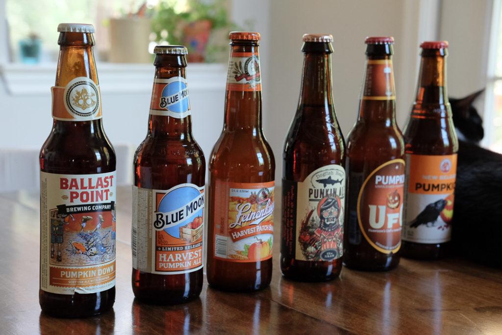 パンプキンビール6種類