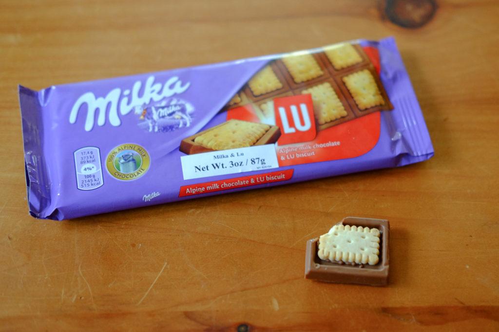 クッキー入りのミルカ