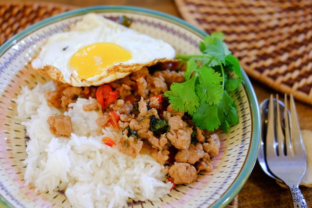 タイ料理*ガパオごはん