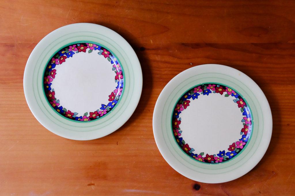イギリス製のアンティーク皿