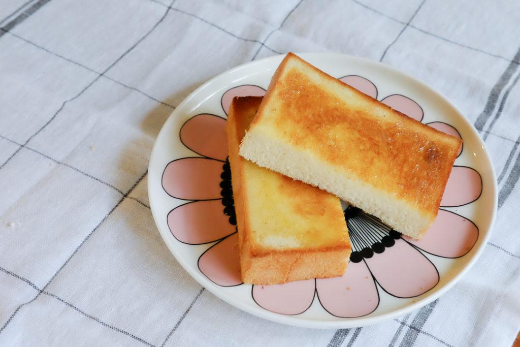 トーストにしてみた♪