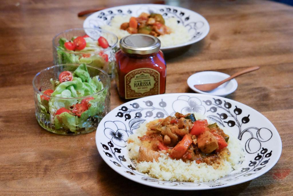 おうちモロッコ料理