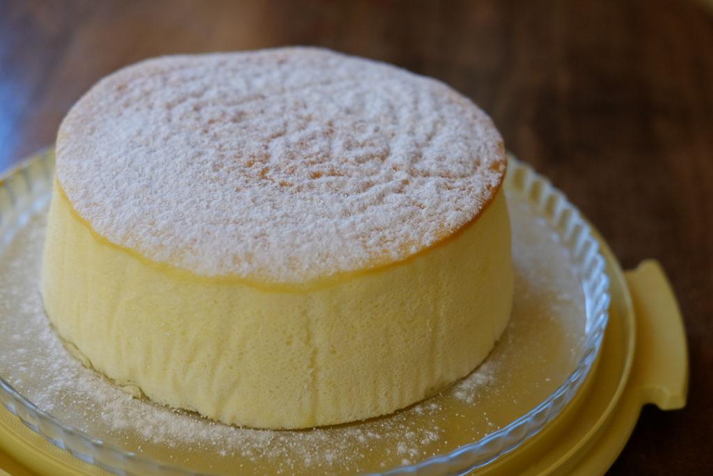 ふるふるスフレチーズケーキ