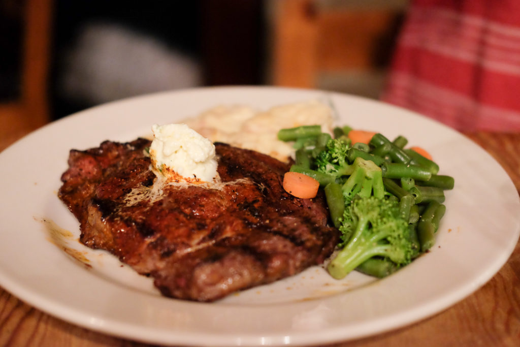 450gのステーキ