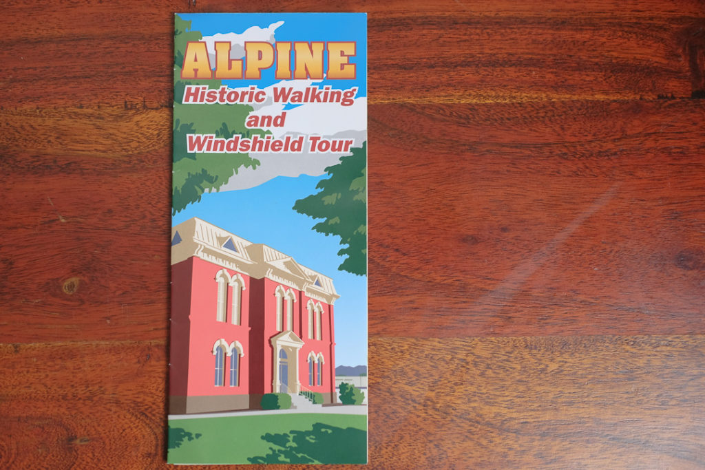 Alpine観光マップ