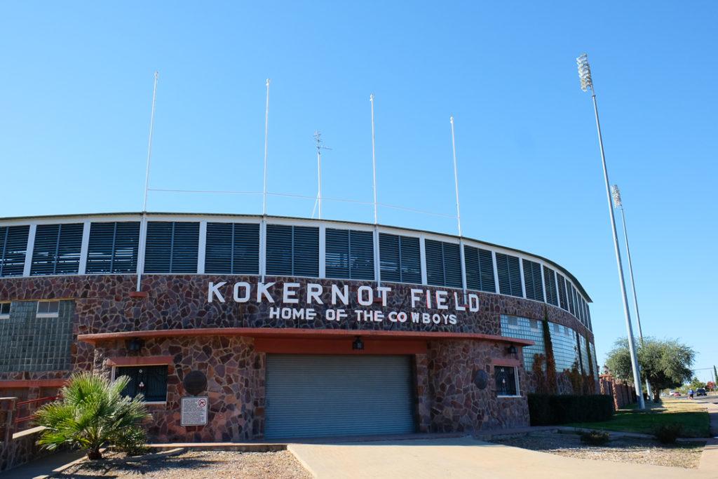 古い野球場