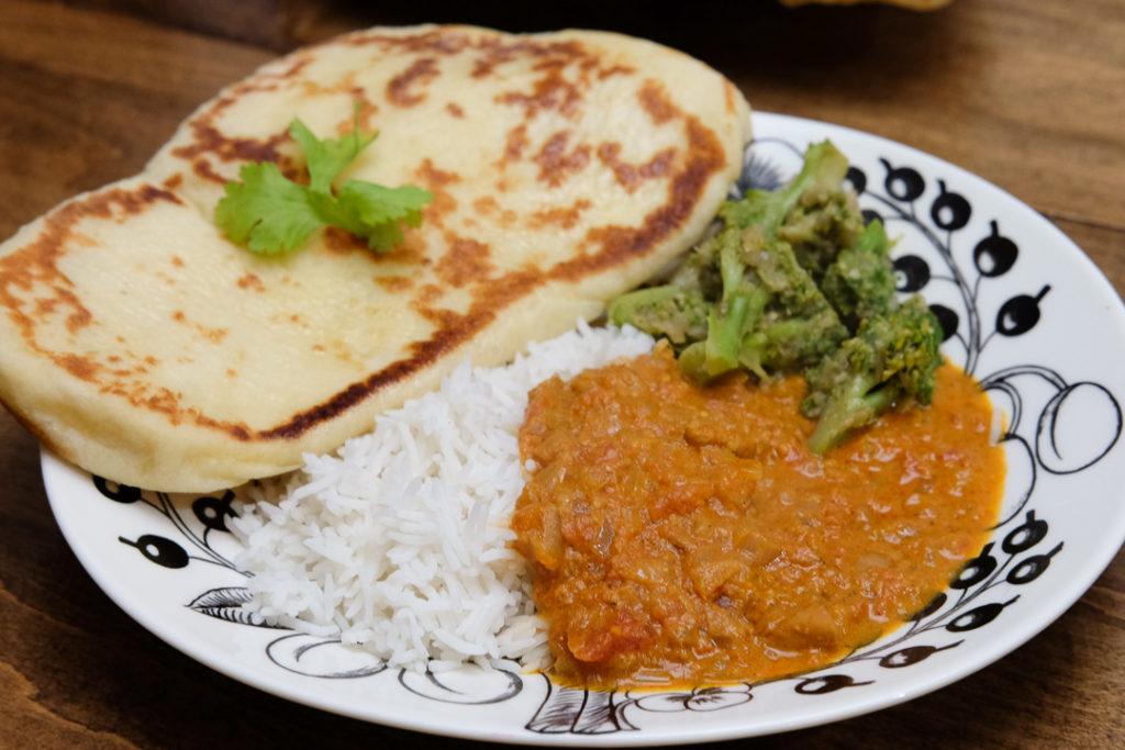 インド料理ディナー