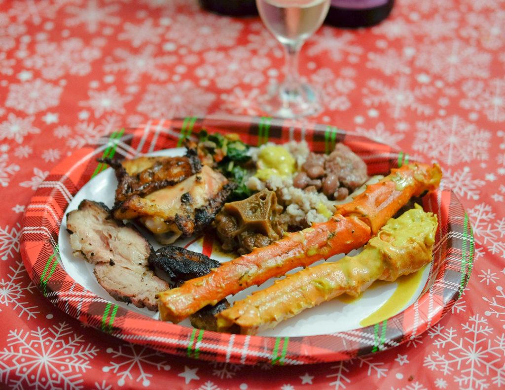 ジャマイカ料理ディナー