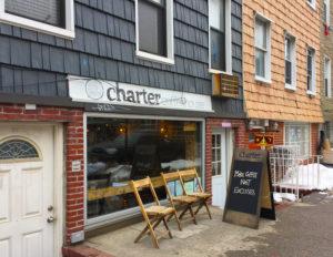 ウイリアムズバーグのcharter coffee house
