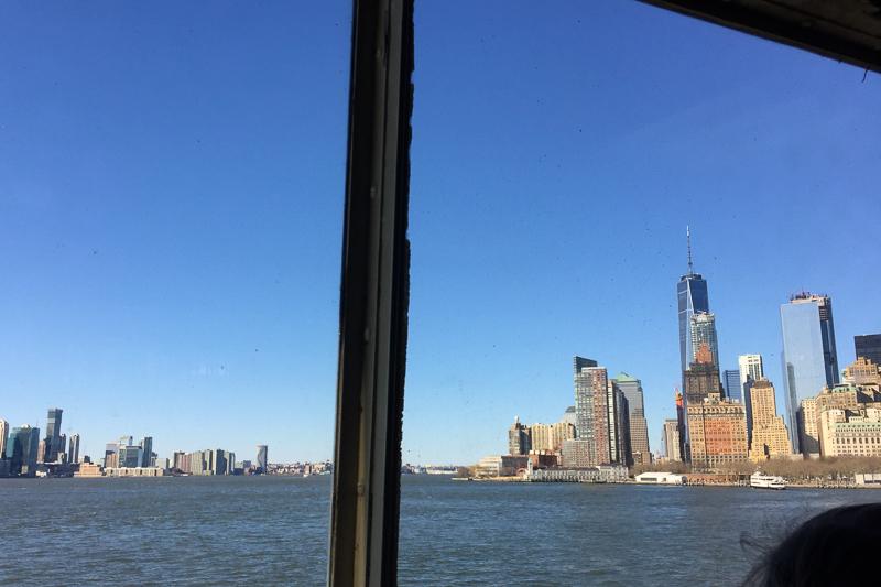 マンハッタンを眺める