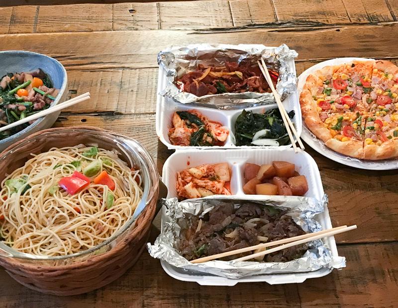 韓国料理のテイクアウト