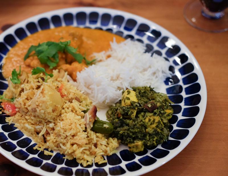 手作りインド料理