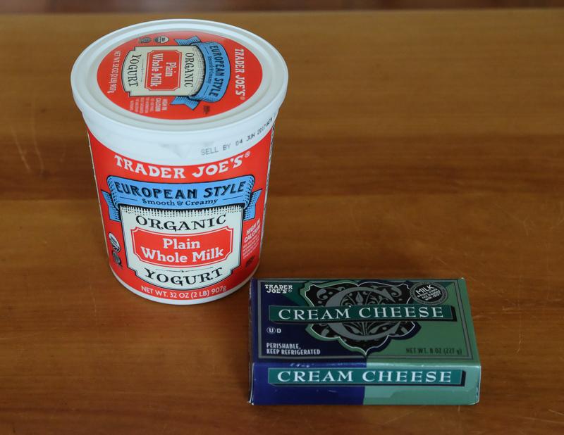 オーガニックヨーグルト&クリームチーズ