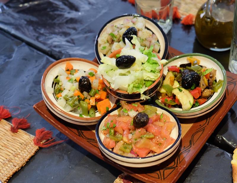 モロッコ風サラダ