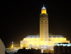 モロッコ最大級のモスク