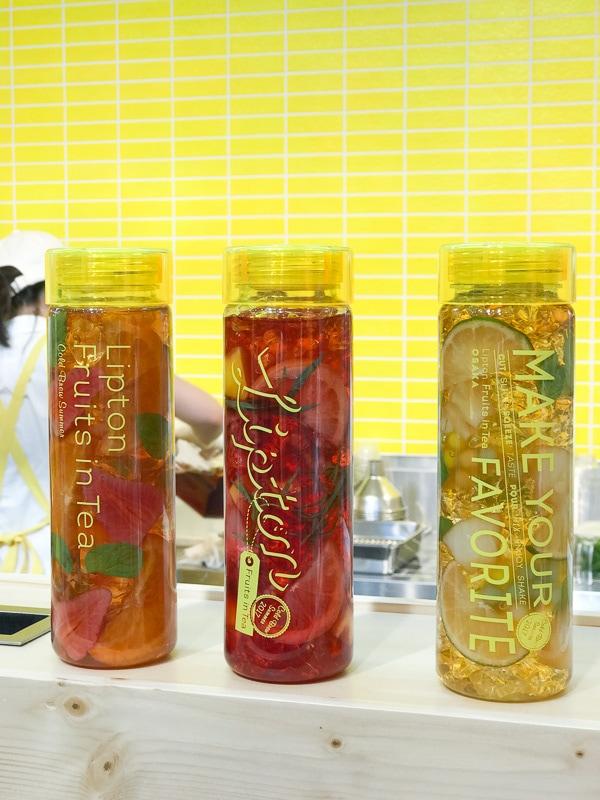 3種類のボトル