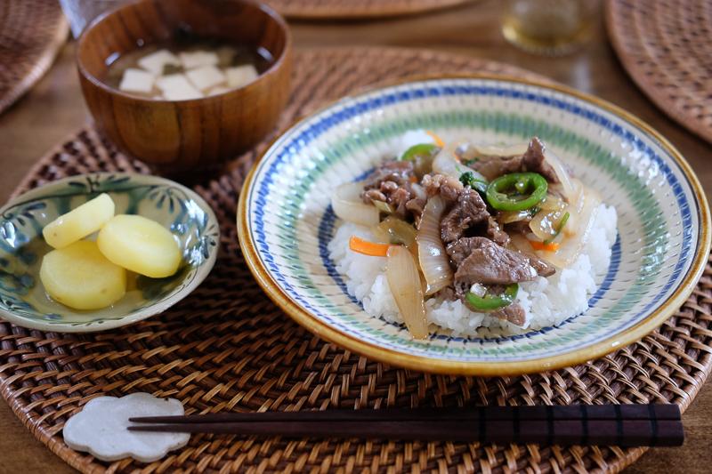牛肉とあまり野菜の炒めもの